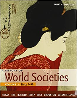 Buy history of world societies 9th ed + sources of world societies.