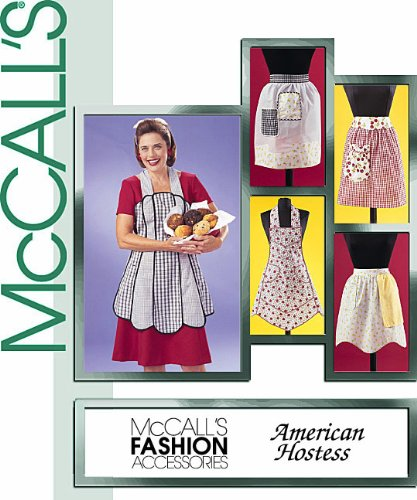 McCall's Patterns M3979 Vintage Aprons, All (Mccall Apron)