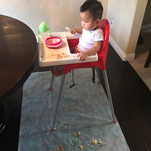 Baby / Toddler Learning to Feed Disposable Drop Cloth by AHG SWIFT (Image #3)