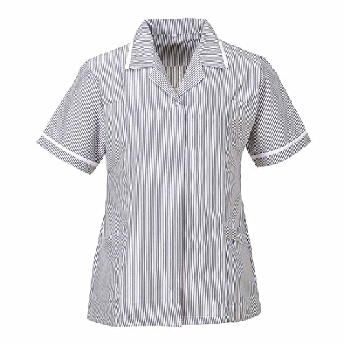 Portwest Workwear Ladies Striped Tunic - LW16 - EU / UK grau