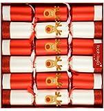 "Robin Reed Racing Reindeer Traditional English Crackers 6x13"" (701)"