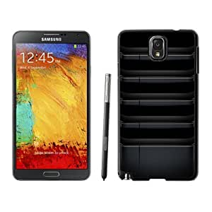 Custom and Personalized Cell Phone Case Design with Metallic Dark Shelves Galaxy NOTE 3 N900P Wallpaper