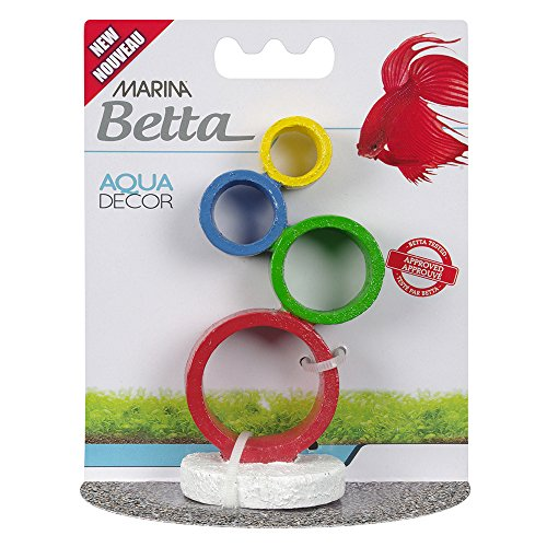 Marina 12233 Betta Ornament, Circus Rings