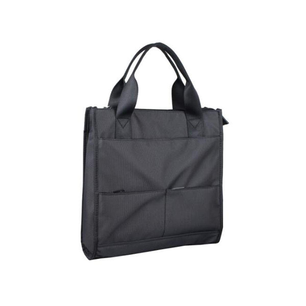 Chenjinxiang Briefcase Color : Black Suitable for Work Simple Mens Nylon Casual Crossbody Bag Size: 32930cm Concise Waterproof and Wearable Business Travel