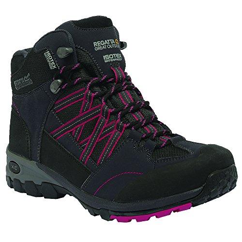 Regatta Womens/Ladies Samaris Isotex Waterproof Mid Walking Boots marr�n