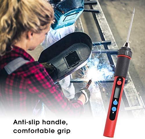 Mini portable iron welding Handle Replacement USB Digital display Electric Adjustable temperature Welding repair tool DC 5V 10W