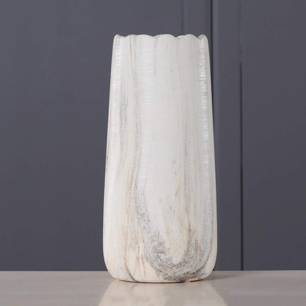 花瓶、装飾クリエイティブリビングルームホーム大容量寝室ダイニングテーブルデスクトップ寝室ドレッシングテーブル花瓶 (サイズ さいず : 17*35.5CM) B07QQJL5DB  17*35.5CM