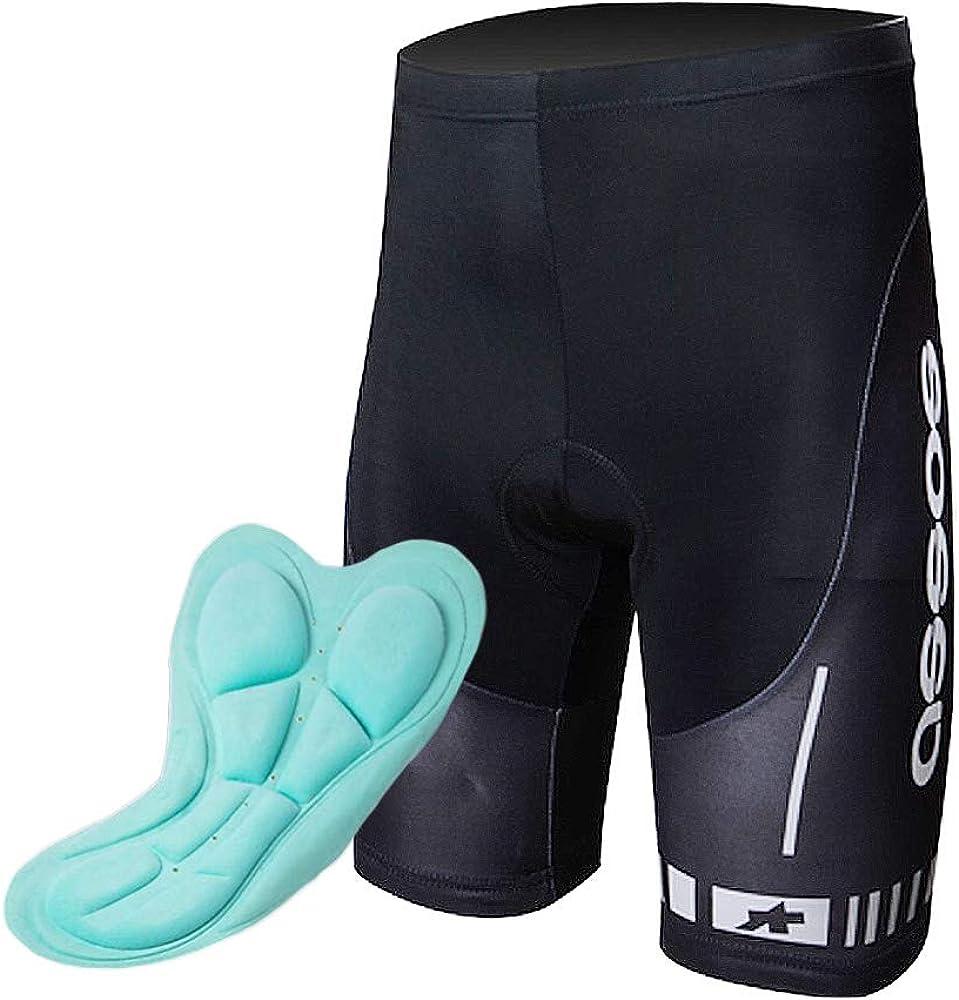 con un alta densit/à pantaloncini con imbottitura 3D in gel elastica e traspirante XGC slip da ciclismo