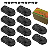 FOSHIO 10Pack Plastic Auto Car Vinyl Wraps Display Show Model with Small Hook Vinyl Graphics and Wrap Tools