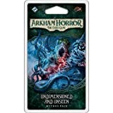 Toys : Fantasy Flight Games Arkham Horror Card Game the Dunwich Legacy Cycle #4 Undimensioned & Unseen Mythos Living, Various, 3.5625 x 6x .9375