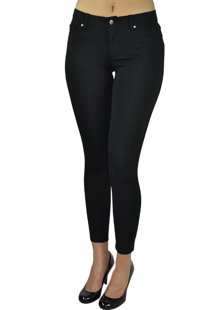 Alfa Global Skinny Dress Pants Black Medium
