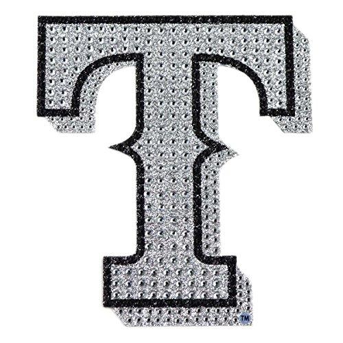 MLB Texas Rangers Bling Emblem, 6.25