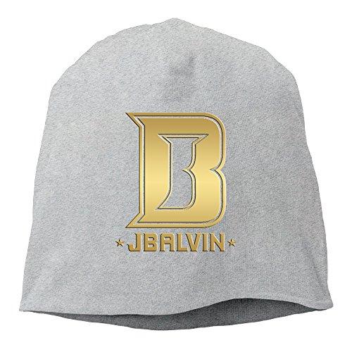 J Balvin ENERGIA Beanie Hat Knit Cap For Adult (6 Colors) Ash