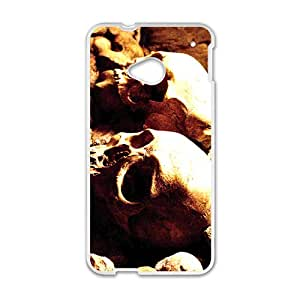 Scary Skull Hot Seller High Quality Case Cove For HTC M7