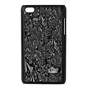 DIY Printed Volcom hard plastic case skin cover For Ipod Touch 4 SNQ393527