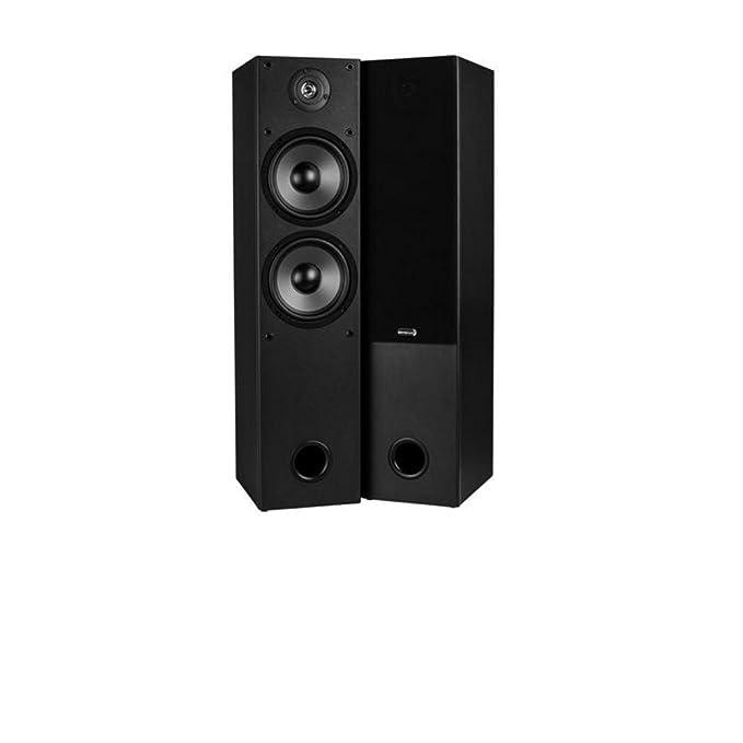 "Review Dayton Audio T652 Dual 6-1/2"" 2-Way Tower Speaker Pair"