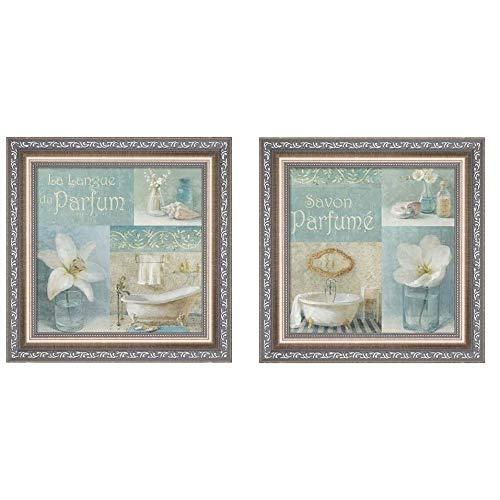 Metaverse Danhui NAI 'Parfum' Framed Art (Set of 2) - Blue ()