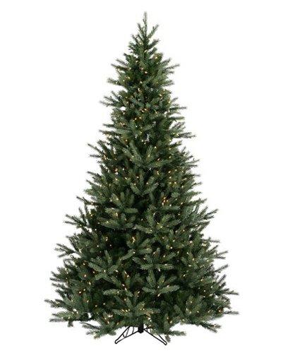 vickerman pre lit natural frasier fir artificial christmas tree with clear lights 75 - Fraser Fir Artificial Christmas Tree