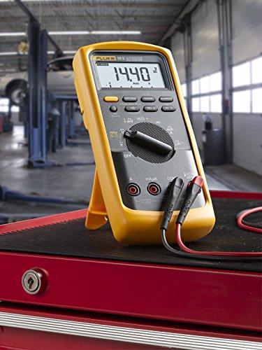Fluke 88 Digital Multimeter Manual : Fluke v a kit automotive multimeter combo reviews