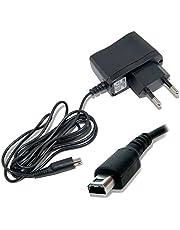 Ociodual Netzteil für Nintendo 3DS/3DS XL/2DS/2DS XL/DSi/DSi XL/New 3DS Ladegerät 2Pin EU-Stecker Reiselader Konsole AC Adapter