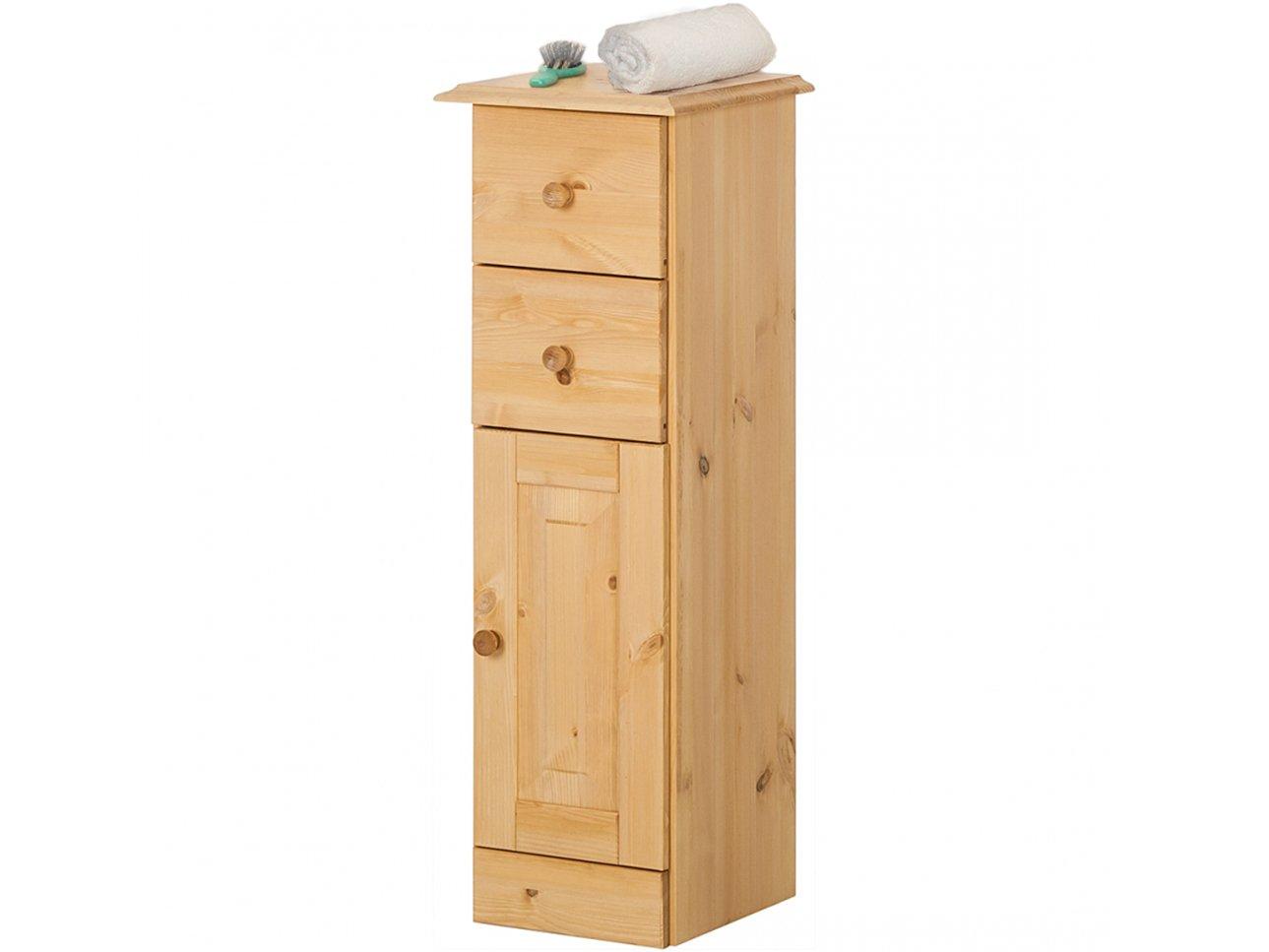 Loft24 Kommode Badezimmer Schrank Weiß Midischrank Kommode Loft24
