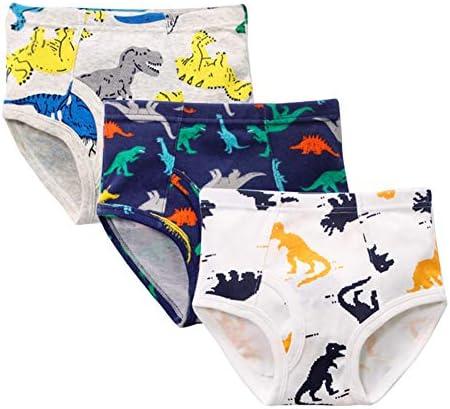 子供 パンツ 男の子 綿 恐竜柄 通気 3枚セット 日替わり トライアングルショーツ