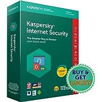 Kaspersky Internet Security Latest Version - 3 PCs, 3 Years (Single Key) (CD)