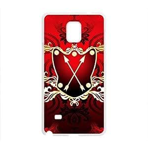 DAZHAHUI Festival Red Badge Custom Protective Hard Phone Cae For Samsung Galaxy Note4