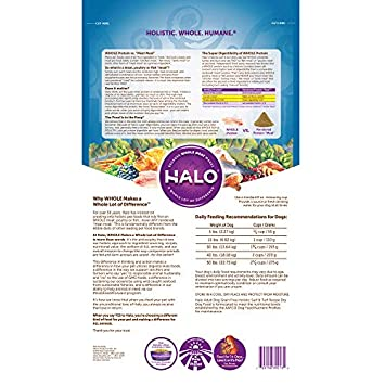Halo Grain Free Natural Dry Dog Food, Surf Turf Recipe