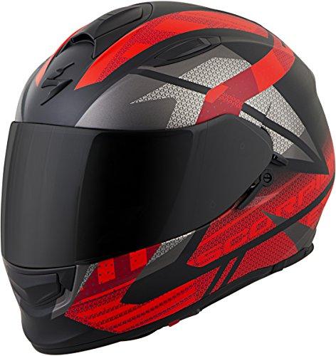Scorpion EXO-T510 Helmet - Fury (Medium) (Black/NEON RED)