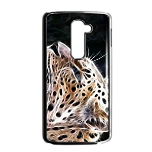 Abstract Leopard Custom Protective Hard Phone Cae For LG G2
