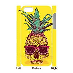 Pineapple 3D-Printed ZLB590751 DIY 3D Phone Case for Iphone 4,4S by supermalls