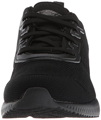 Squad Fitness De tough black Femme Skechers Bobs Bbk Chaussures Talk Noir gqTTwA