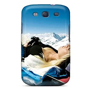 Galaxy S3 Cover Case - Eco-friendly Packaging(snow Bunny)
