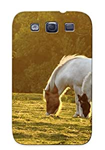 New Premium YOUikWH884YLKlk Case Cover For Galaxy S3/ Horses Protective Case Cover