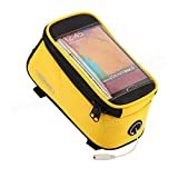 ROSWHEEL Bicycle Mobile Phone Touch Screen Bag Frame Tube Bag ( Blue, L )