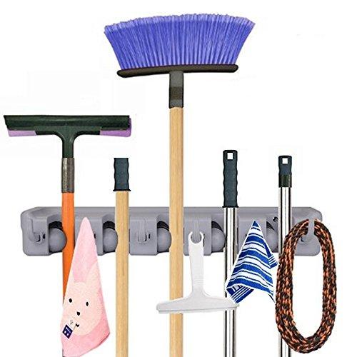 18 99 26 imixlot mopp und besenhalter wand garten werkzeugaufbewahrung werkzeugregal. Black Bedroom Furniture Sets. Home Design Ideas