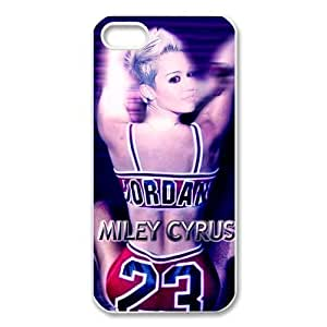 Pink Ladoo? Case For Ipod Touch 5 Cover+ Plus Case Phone Cover Hollywood Star Miley Cyrus chicago Bull Michael Jordan