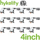 Hykolity 4 Inch Remodeling Recessed Light Housing, Air Tight CAN TP24 Connector, Recessed Downlight Remodel Housing- ETL listed- 12 Pack