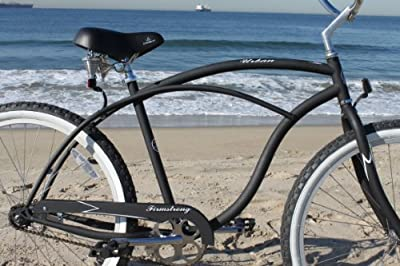 Firmstrong Urban Man Single Speed Beach Cruiser Bicycle