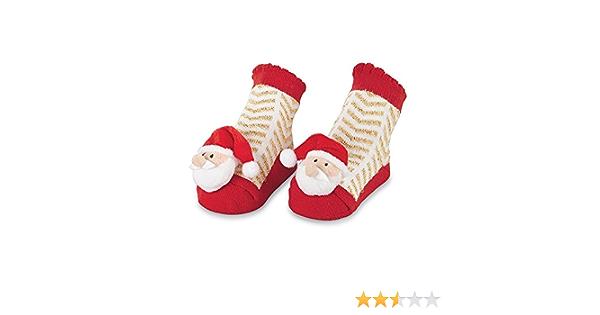 Mud Pie Baby Boy Christmas Socks packaged in Vintage Cardboard Truck  NEW