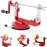 Fruit Apple Peeler Corer Slicer Slinky Machine Potato Cutter Kitchen Tool 3 in 1