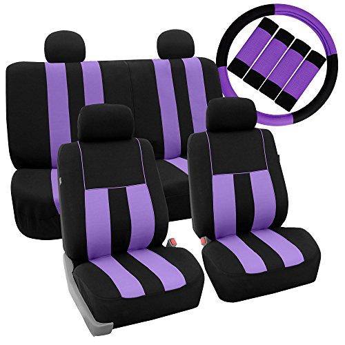 purple camo seat covers - 7