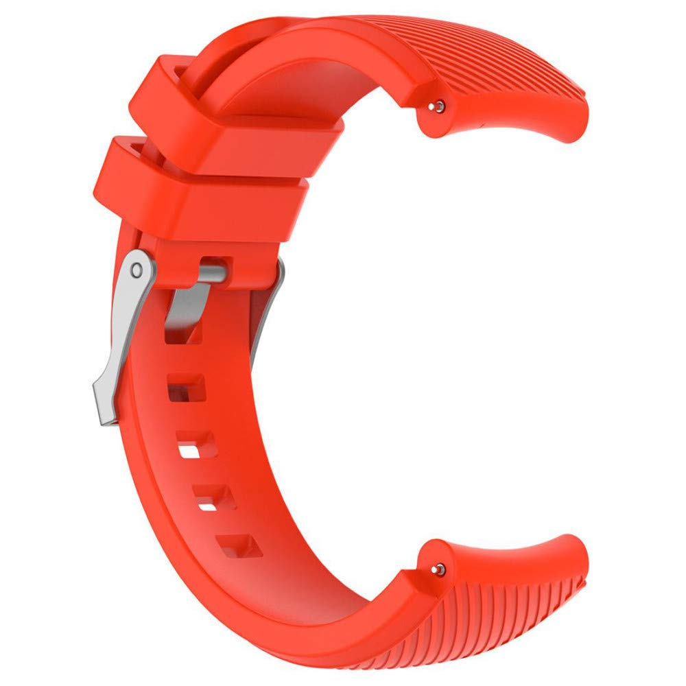 LANSKIRT_Correas de Reloj Suave de Silicagel Correa Reloj Deportivo Accesorios para Relojes Recambio Brazalete Extensibles Pulsera para Amazfit Stratos ...