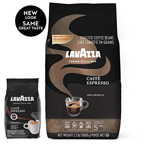 Save on Lavazza Caffe Espresso Whole Bean Coffee Blend, Medium Roast, 2.2 Pound Bag and more