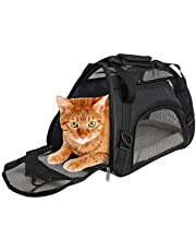 Cuby Soft Sided Pet Carrier,Comfort for Airline Travel for Small Animals/Cats/Kitten/Puppy(Medium)