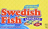 Swedish Fish Assorted Soft & Chewy Candy, 3.5-Ounce Boxes (Pack of 60)