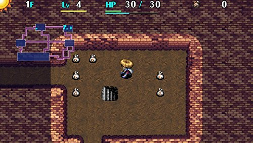 Shiren The Wanderer: The Tower of Fortune and the Dice of Fate - PlayStation Vita by Aksys (Image #2)