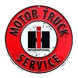 International Harvester Motor Truck Service Sign