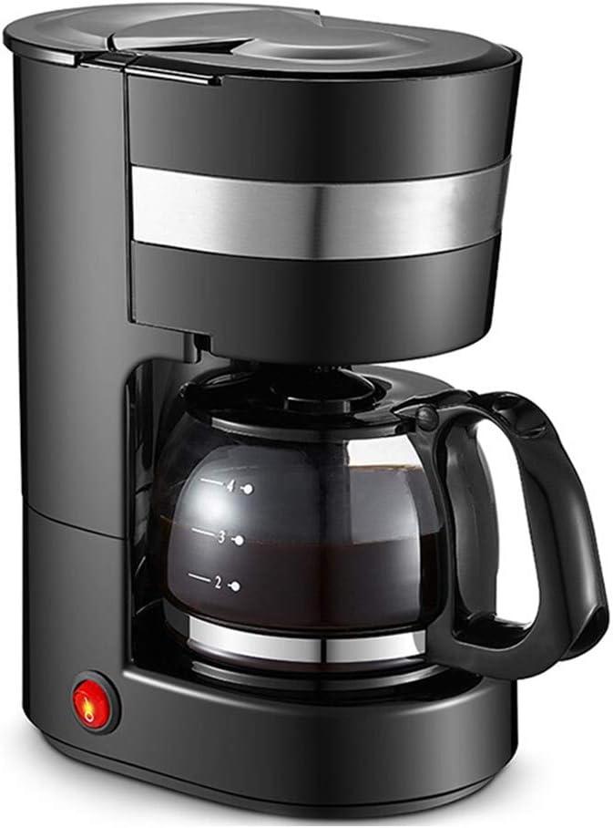 Cafeteras Ministerio del Interior Máquina de café por goteo automática americana multifunción Pequeña cafetera pequeña Tetera: Amazon.es: Hogar